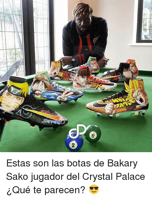 Crystal Palace, Crystal, and Palace: Estas son las botas de Bakary Sako jugador del Crystal Palace ¿Qué te parecen? 😎
