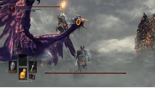 Video Games, Storm, and King: Estus Flask 9  King of the Storm