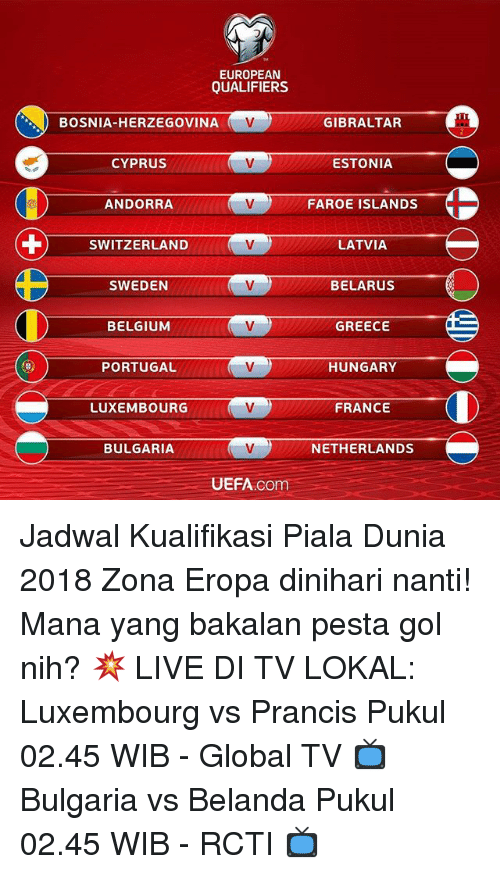 World Cup 2018 Di Tv Mana