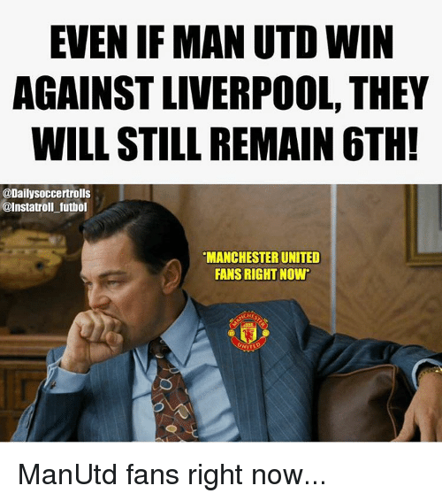 Best 25 Liverpool Memes Ideas On Pinterest: 25+ Best Memes About Manchester-United-Fan