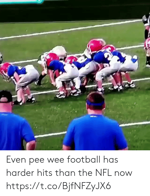 pee wee: Even pee wee football has harder hits than the NFL now https://t.co/BjfNFZyJX6