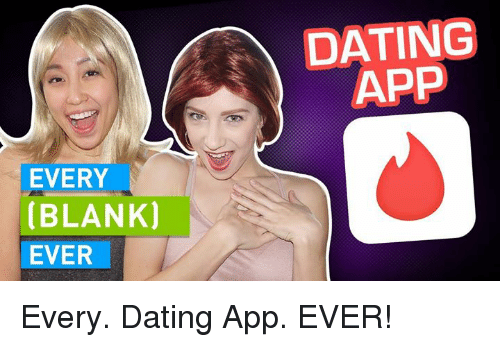 dating application meme