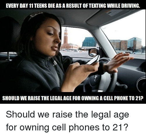 why we should raise legal driving Should the driving age be raised to 18 from the age of 16 that it  with household  errands in the same way if they don't have a driver's license.