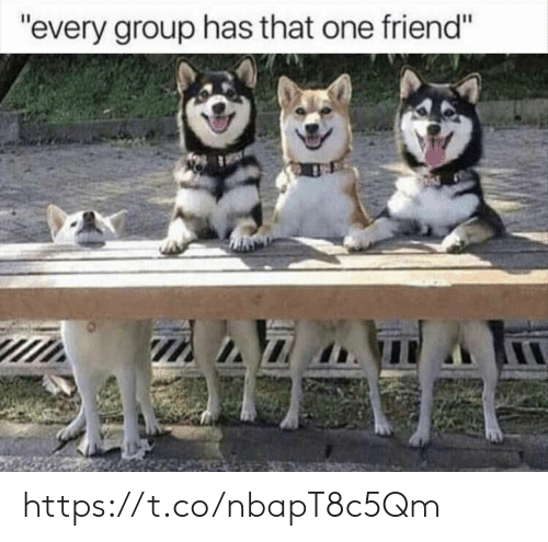 """That One Friend: """"every group has that one friend"""" https://t.co/nbapT8c5Qm"""