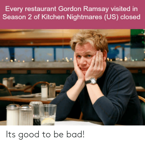 Kitchen Nightmares: Every restaurant Gordon Ramsay visited in  Season 2 of Kitchen Nightmares (US) closed Its good to be bad!