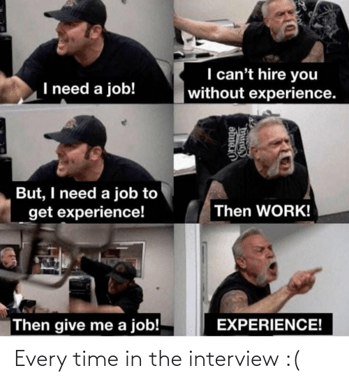 The Interview: Every time in the interview :(