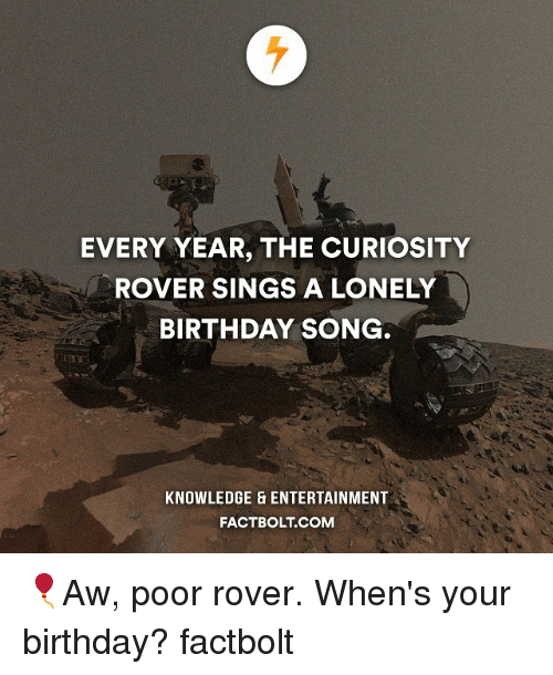 birthday of mars rover - photo #19