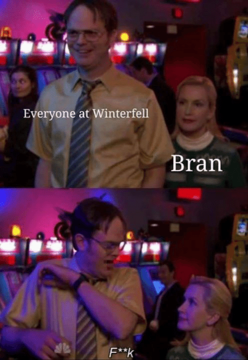 bran: Everyone at Winterfell  Bran