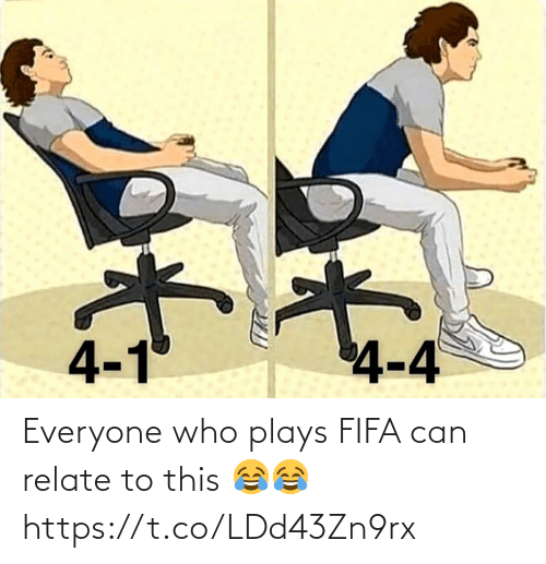 Relate: Everyone who plays FIFA can relate to this 😂😂 https://t.co/LDd43Zn9rx