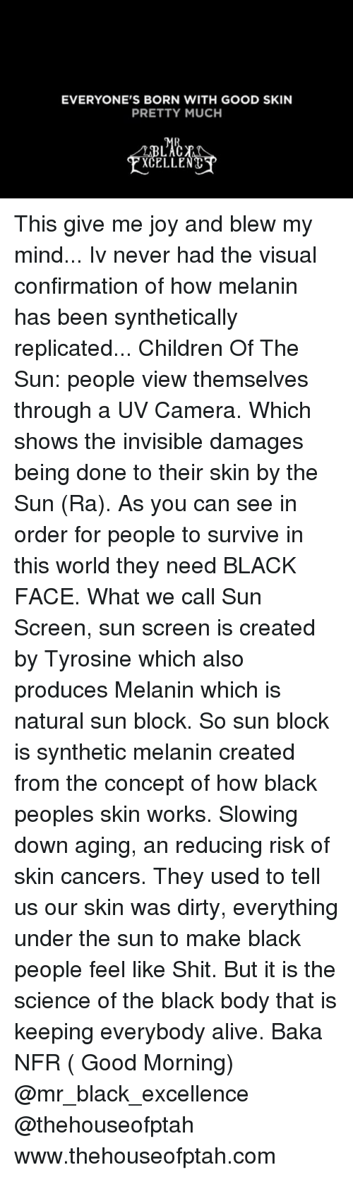 How Much Melanin Is In The Average Black Person