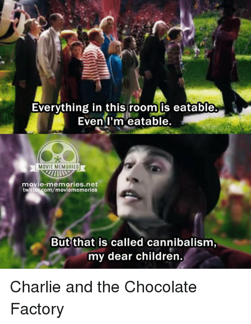 Charlie And The Chocolate Factory Eatable