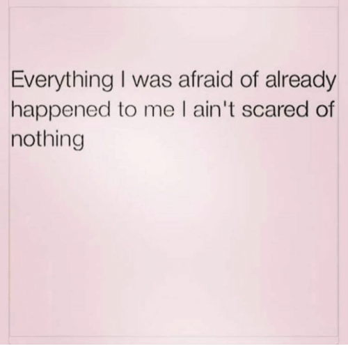 Aint Scared