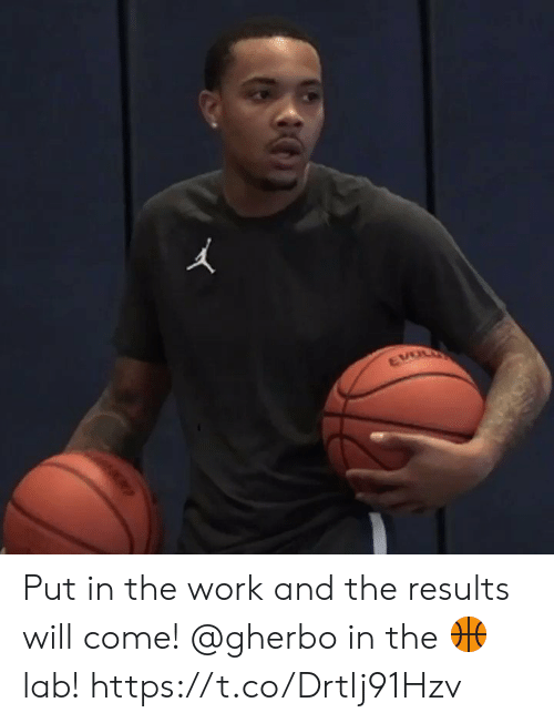 Lab: EVOL Put in the work and the results will come! @gherbo in the ? lab! https://t.co/Drtlj91Hzv