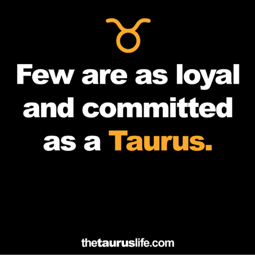 Taurus, Com, and And: ew are as  and committed  as a Taurus.  thetauruslife.com