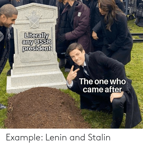 stalin: Example: Lenin and Stalin