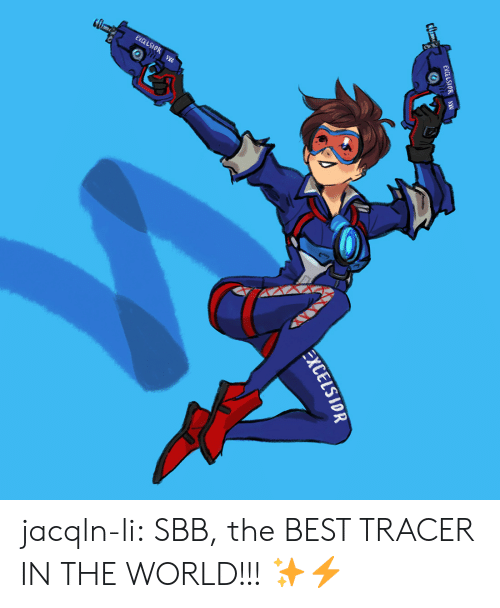 sbb: EXCELSIOR  EXCELSIOR jacqln-li:  SBB, the BEST TRACER IN THE WORLD!!! ✨⚡