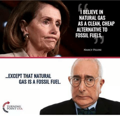 Pelosi On Natural Gas