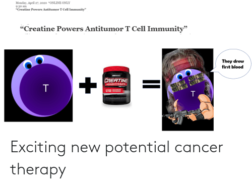 Cancer: Exciting new potential cancer therapy
