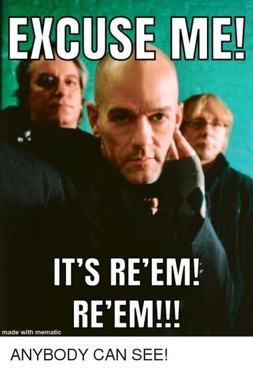 Reem: EXCUSE ME!  IT'S RE'EM!  RE'EM!!!  made with mematic