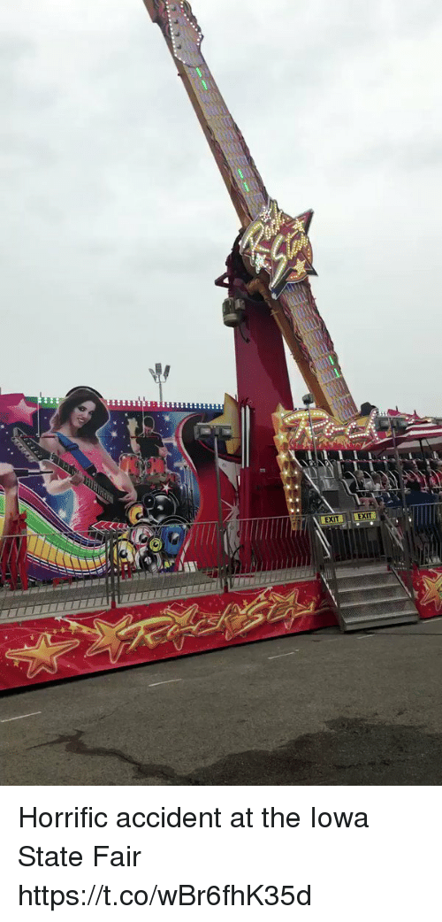 iowa state: EXIT EXI Horrific accident at the Iowa State Fair https://t.co/wBr6fhK35d