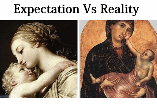 Classical Art and Expectation: Expectation Vs Realitv  se