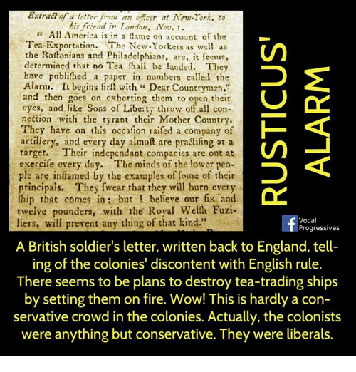 letter colonist to britain friend in