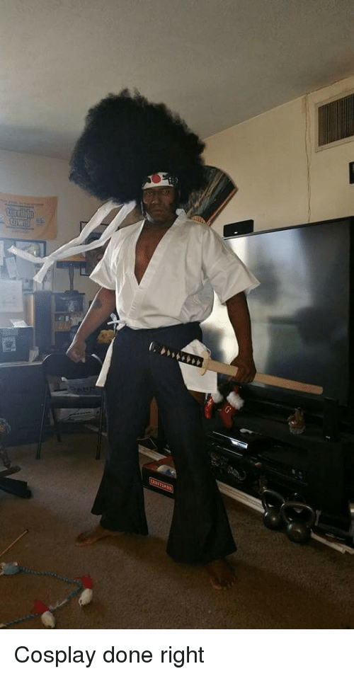 Funny: f,い.. Cosplay done right