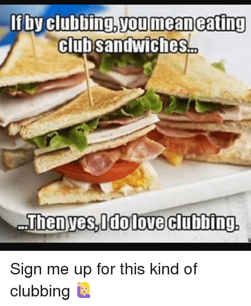 Clubbing: f by clubbing.youimeaneating  clubsandwiches Sign me up for this kind of clubbing 🙋🏼