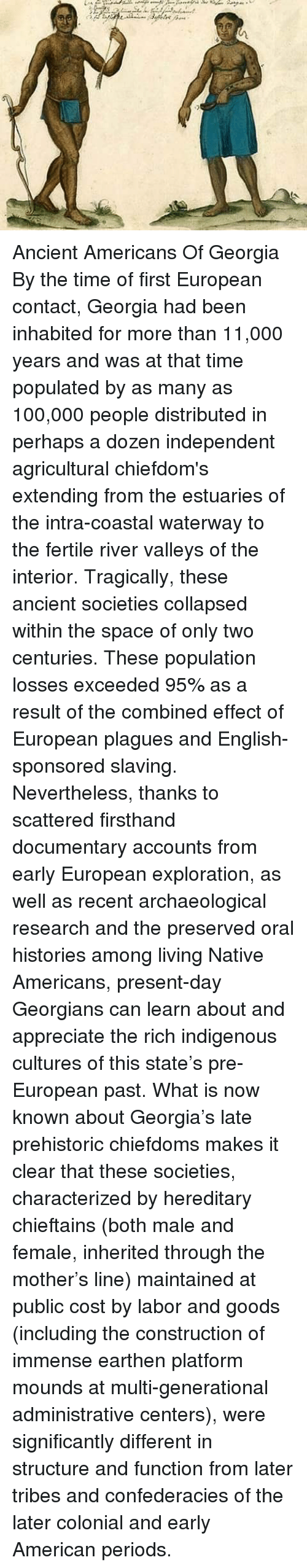 the effects of the natives contact with the europeans Aboriginal relations with europeans 1600-1900 (related articles: although each group had a distinct history of contact with europeans.