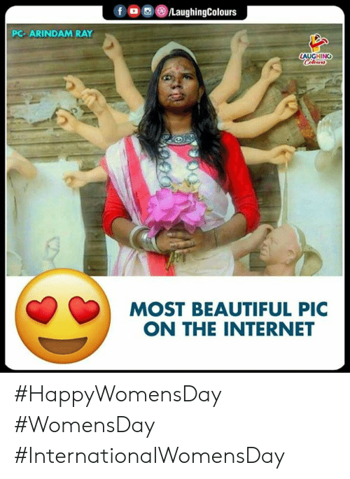 Womensday: f/LaughingColours  PC- ARINDAM RAY  LAUGHING  MOST BEAUTIFUL PIC  ON THE INTERNET #HappyWomensDay #WomensDay #InternationalWomensDay