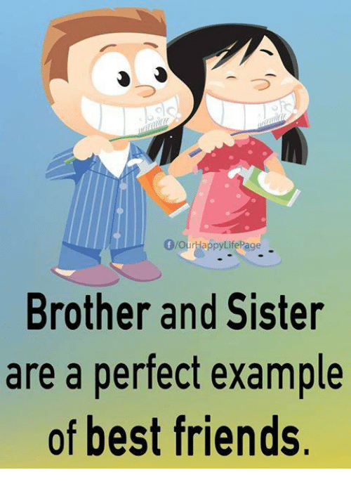 brother dating sisters friend They met through a mutual friend, and have been dating about 3 to 4 months i got a kid brother and sister too its not fun especially during the holidays.