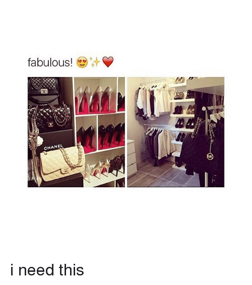 Girl Memes: fabulous!  CHANEL i need this