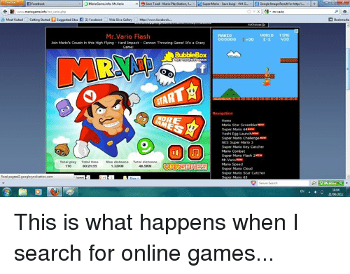 Mario porn flash games