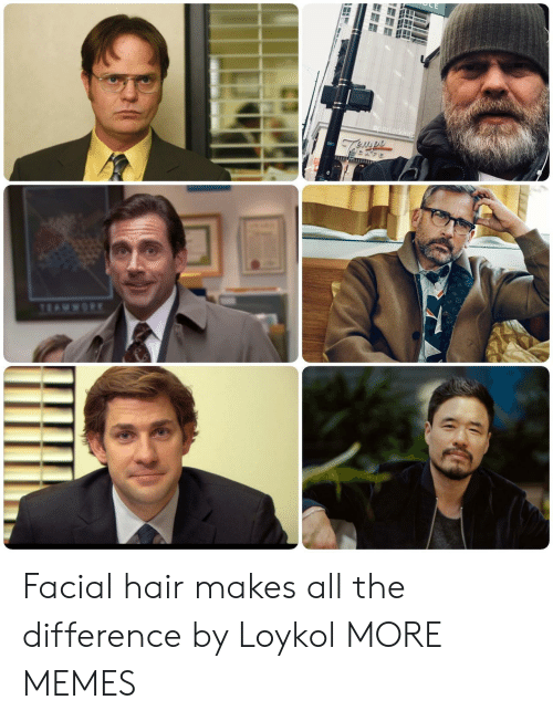 facial hair: Facial hair makes all the difference by Loykol MORE MEMES