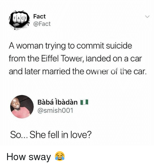 Dating a girl who tried to commit suicide