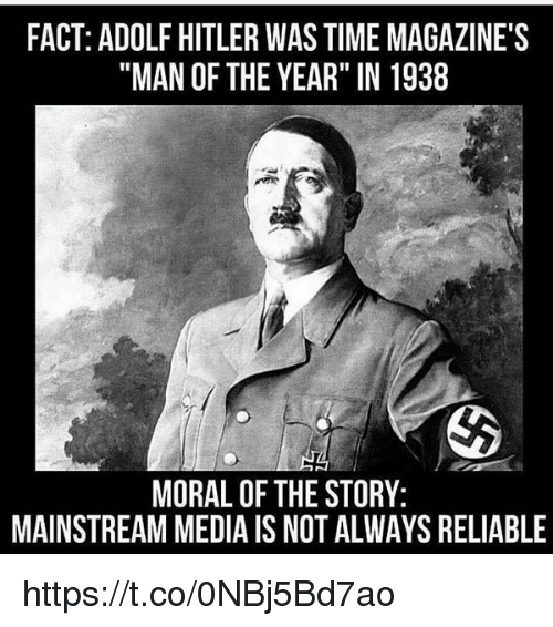Time Magazine Hitler
