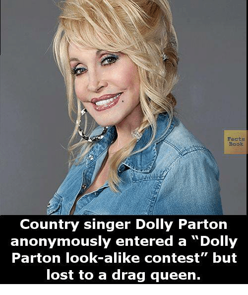 Facts Book Country Singer Dolly Parton Anonymously Entered