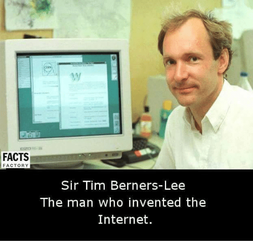 who invented the internet The inventor of the world wide web and one of time magazine's '100 most important people of the 20th century', sir tim berners-lee is a scientist and academic whose visionary and innovative work has transformed almost every aspect of our lives.