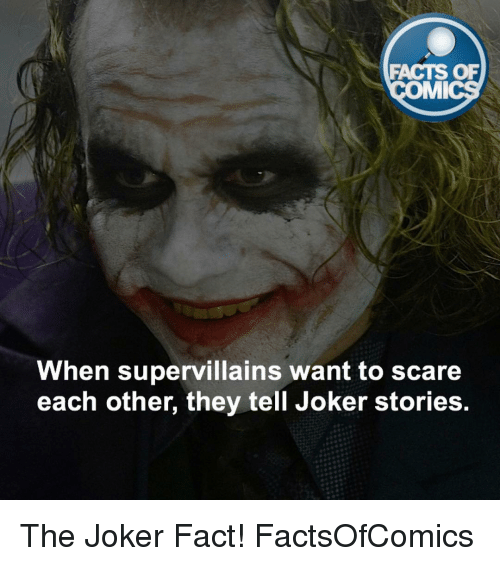 Love Each Other When Two Souls: 25+ Best Memes About Joker Facts