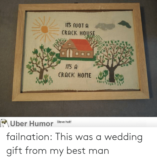 Wedding: failnation:  This was a wedding gift from my best man