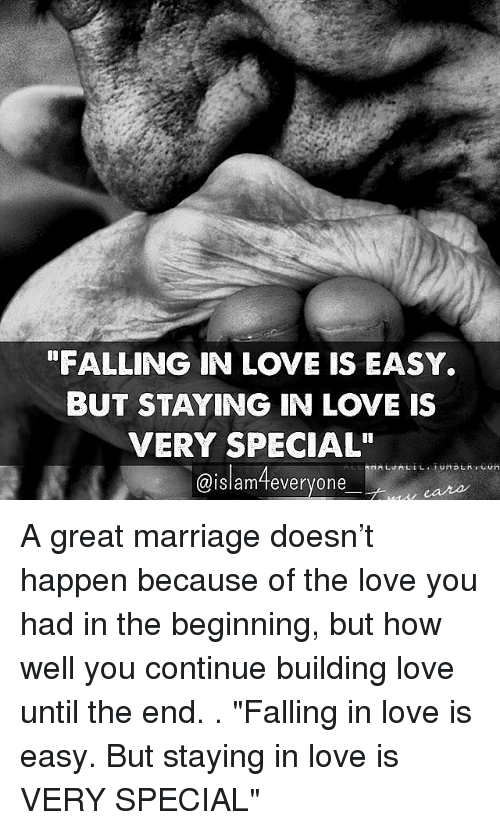 Falling In Love Is Easy But Staying In Love Quotes: Funny Marriage Memes Of 2017 On SIZZLE
