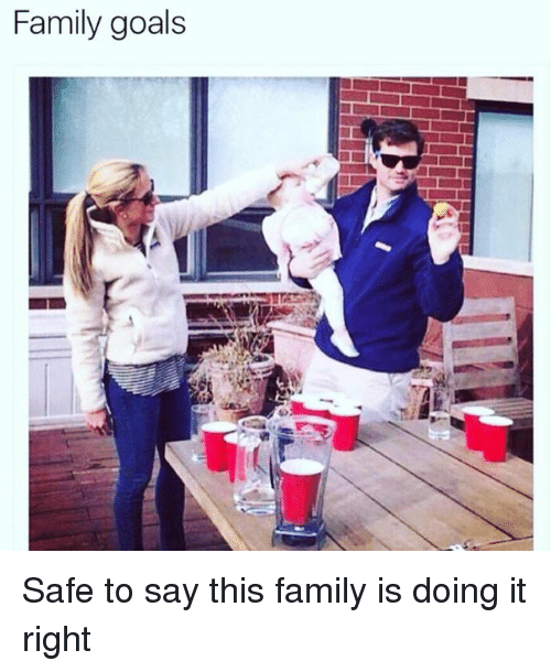 safe: Family goals Safe to say this family is doing it right