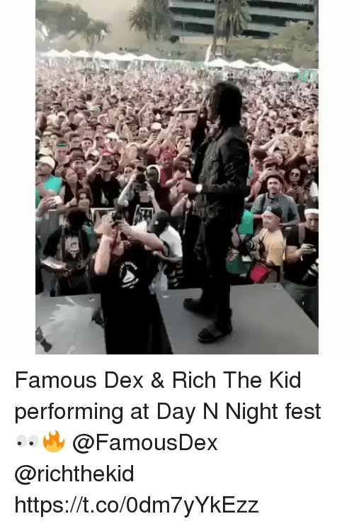 amped: Famous Dex & Rich The Kid performing at Day N Night fest 👀🔥 @FamousDex @richthekid https://t.co/0dm7yYkEzz