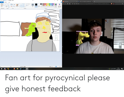 Pyrocynical: Fan art for pyrocynical please give honest feedback