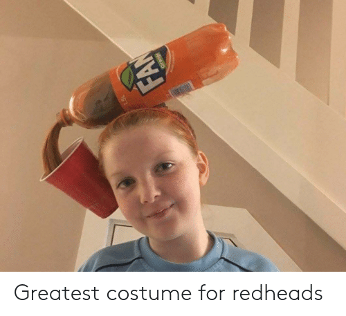 costume: FAN  pe Greatest costume for redheads
