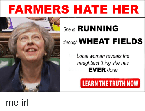 farmers hate her a she is running through wheat fields 22454192 farmers hate her a she is running through wheat fields local woman