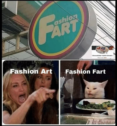 Fashion: FART  ashion  Chowkidar Sahil Swain  Fashion Art  Fashion Fart