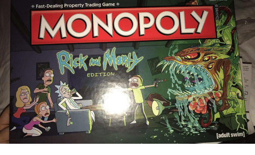 trading: Fast-Dealing Property Trading Game  MONOPOLY  ce dow  the can  d value  EDETION  other  [adult swim]