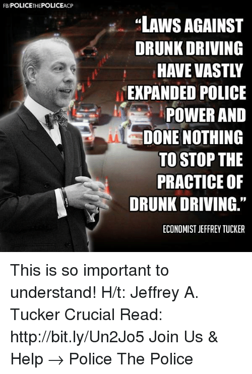 the misrepresentation of the practice of drinking and driving