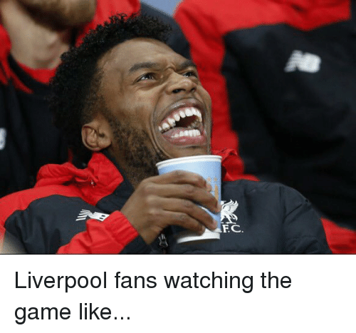fc liverpool: FC Liverpool fans watching the game like...